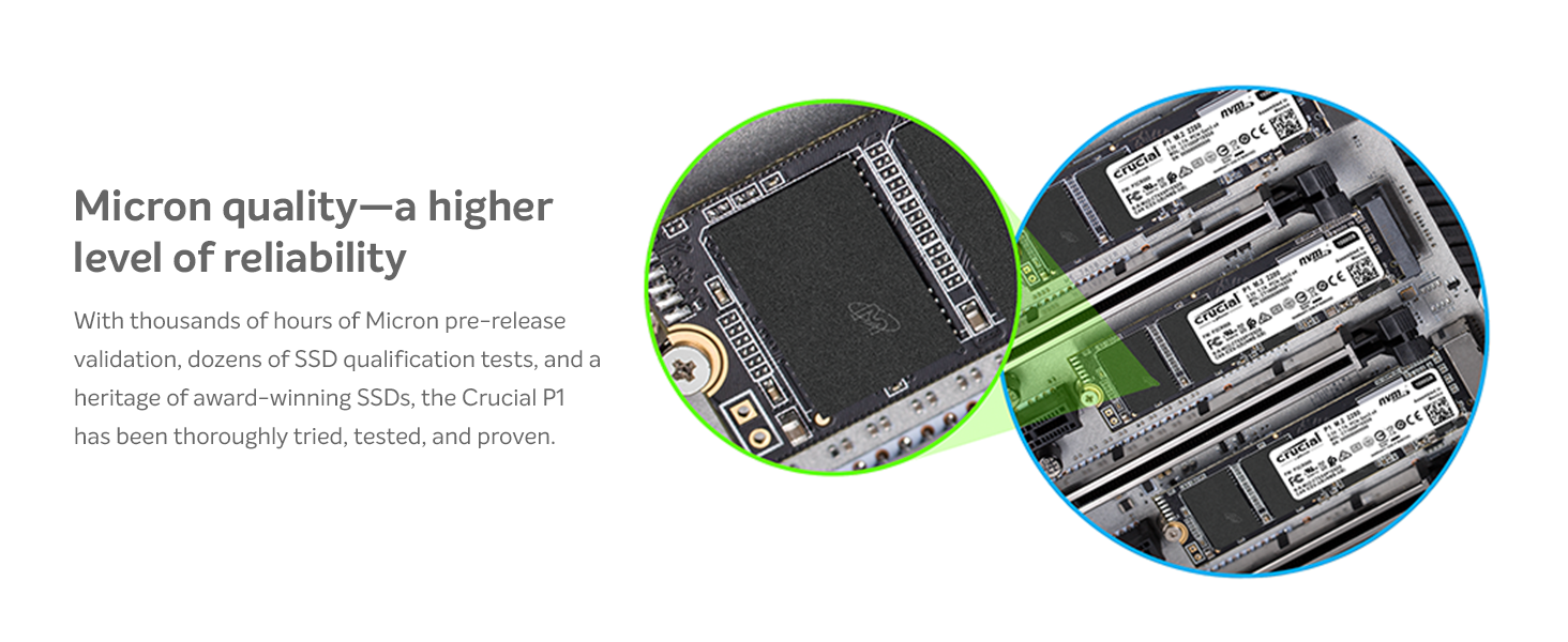 Micron quality—a higher level of reliability