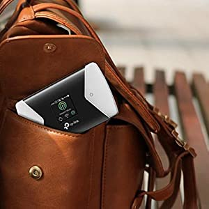Image result for Spread Your Wings with an Elegant Wi-Fi Companion The smooth curves and elegant, compact design make the lightweight M7650 perfect for personal travel, business trips, outdoor activities, and everywhere else life takes you.
