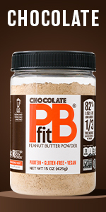Chocolate Pbfit Peanut Butter Powder