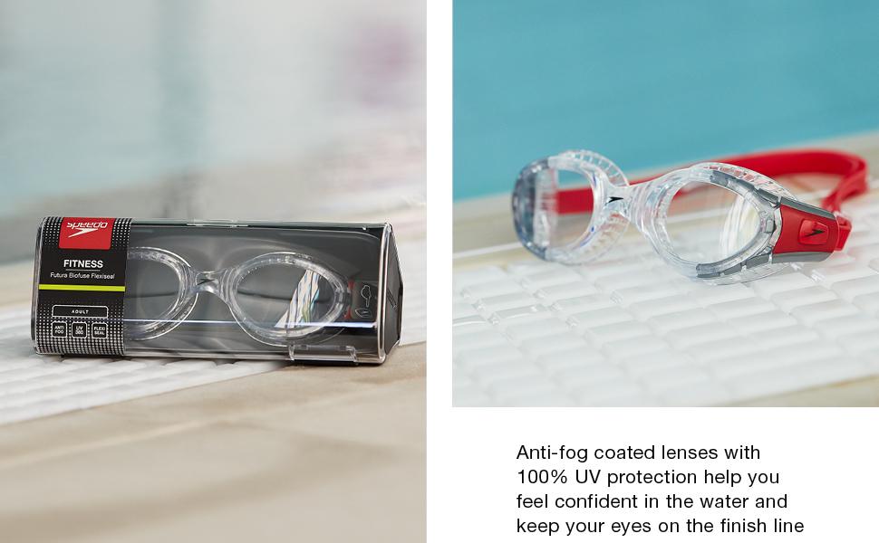 swimming case goggles case antifog anti fog comfort goggles speedo