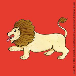 Lion Roar Dear Zoo Rod Campbell Childrens Book