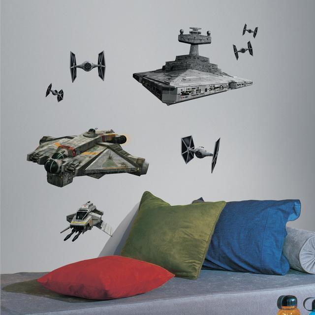Delightful Star Wars Classic, Star Wars Wall Decals, Star Wars Wall Stickers, Star Wars