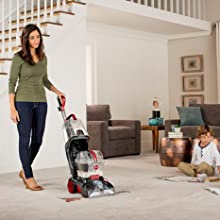 power scrub elite pet full size upright carpet cleaner powerful fresh