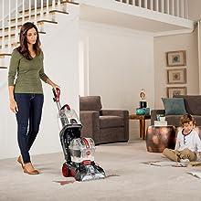 power scrub elite pet full size upright carpet cleaner powerful fresh