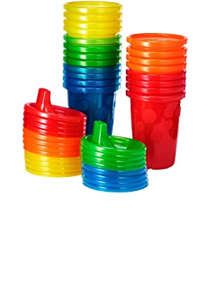 The First Years Take & Toss Spill Proof Sippy Cups Value Pack, Rainbow