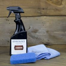 copper armor, care kit, care IQ, protect your sink, cleaning and care