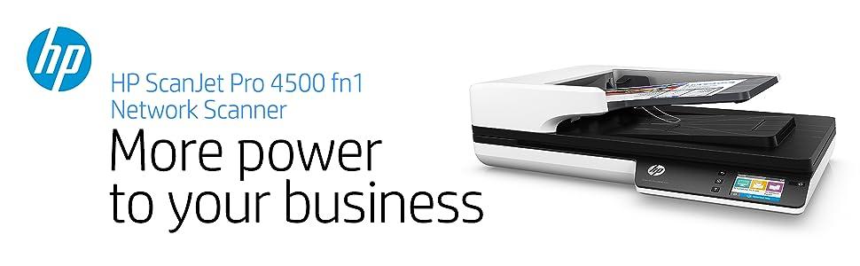 Amazon.com: HP ScanJet Pro 4500 fn1 Network OCR Scanner: Office ...