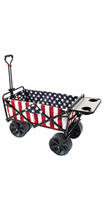 mac wagon collapsible sports foldable utility sport cart with table folding baseball max beach