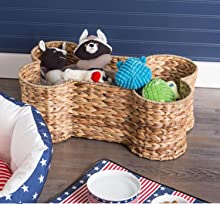 Pet Storage,toy Storage,toy Basket,home Decor,dog Toy Basket,
