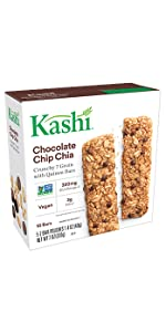 Kashi Crunchy Chocolate Chip Chia Granola Bars