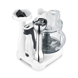The control grip all in one by breville is designed to optimize countertop storage Compact Storage