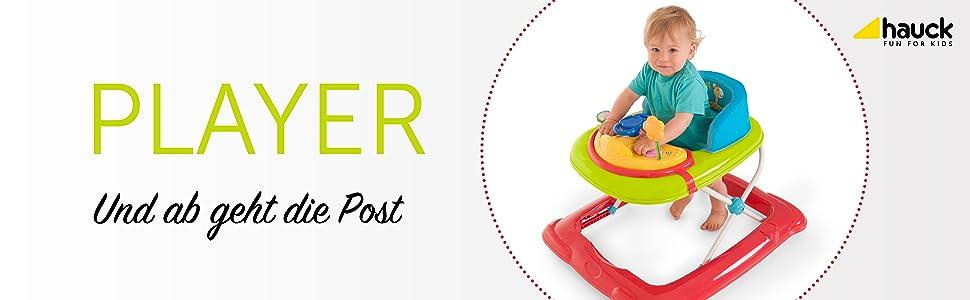Baby Laufwagen mit Spielecenter Lauflernwagen mit Anti-Rutsch-Funktion Babylaufhilfe ab 6 Monate Design:plane Gehfrei Kinder Lauflernhilfe Rocco 2in1 /& Windel Kinderhaus Blaub/är