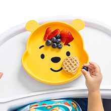 Winnie the pooh toddler plate