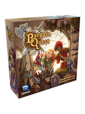 game; board game; bargain quest