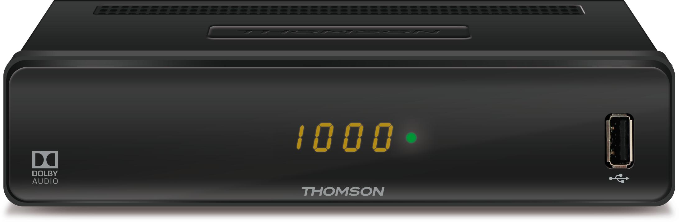 thomson thc300 hd kabelreceiver f r digitales. Black Bedroom Furniture Sets. Home Design Ideas