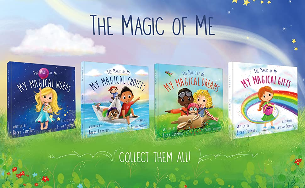the magic of me, my magical gifts, books for kids, children's books, kids books