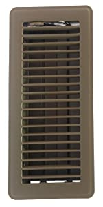 Accord Aofroml410 Floor Register With Red Oak Louvered 4