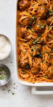 Hands Off Spaghetti and Meatballs