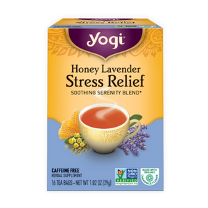 Yogi Tea, Honey Lavender Stress Relief, 16 Count