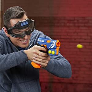 nerf rival gun; knockout xx-100; nerf rival knockout; blaster; rounds; bullets; ammo; nerf wars
