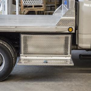 UWS Single-Door Underbody Side Tool Box Aluminum