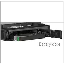 Battery door