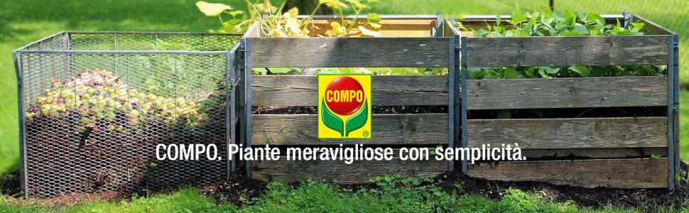 compo composter attivatore compostaggio decomposizione frutta umido vegetali