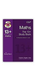 13+ Maths Study Book