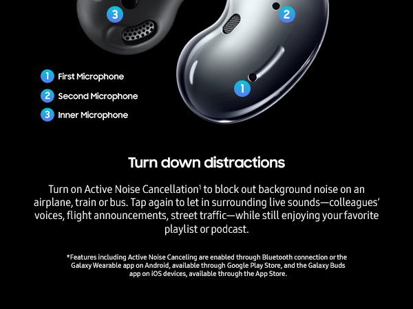 Samsung ear-buds head-phones for cell-phone cordless blue-tooth fast-charging long-battery