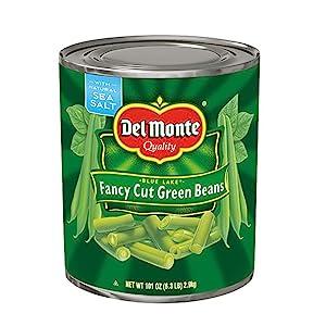 Canned Fresh Cut Green Beans with Sea Salt