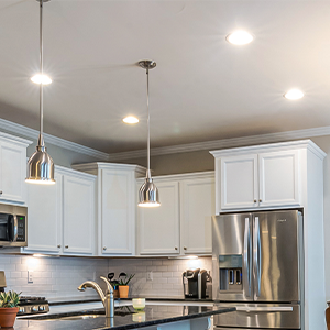round recessed lights, recessed kit, downlights, led lights