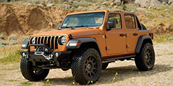JK JL JT Front Bumper with Winch Plate Mount and D-Ring