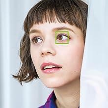 face detection, collimateur, visage, yeux, oeil