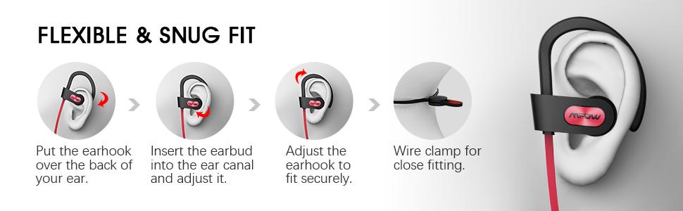 workout headphones bluetooth earbuds waterproof running earbuds running earphones sport headphones