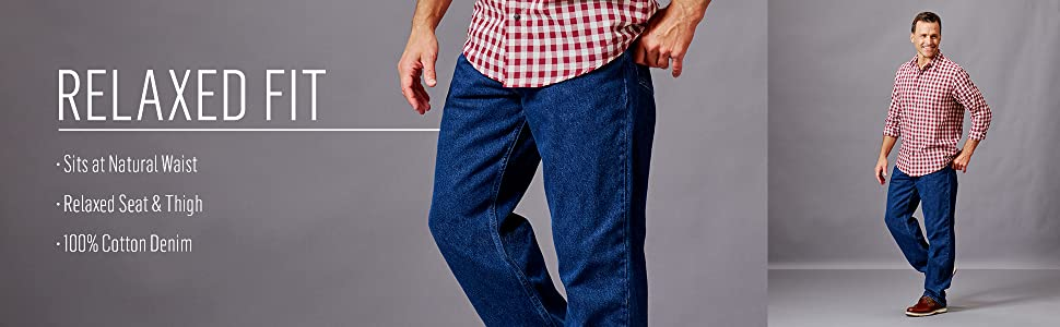 Wrangler Authentics Classic Relaxed Fit Cotton Jean