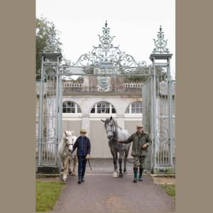 Firle Place, East Sussex, victorian homes, old architecture, horse stables, riding school