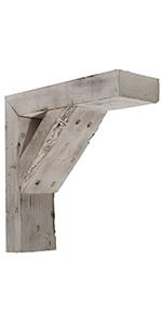 barn wood bracket