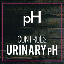 PH controls Unrinary ph