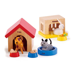 The Family Pets Set from Hape