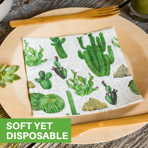 Get the look with the convenience of disposable napkins with our luncheon napkins decorative.