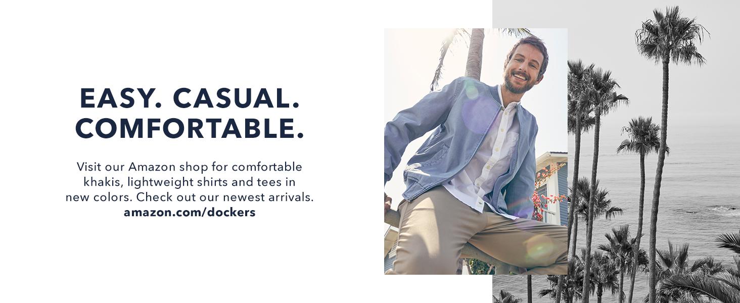 Dockers shop: easy. casual. comfortable.