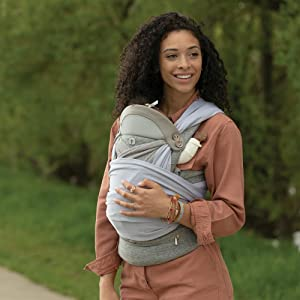 boppy, baby carrier, boppy carrier, baby registry, baby wrap carrier, baby sling