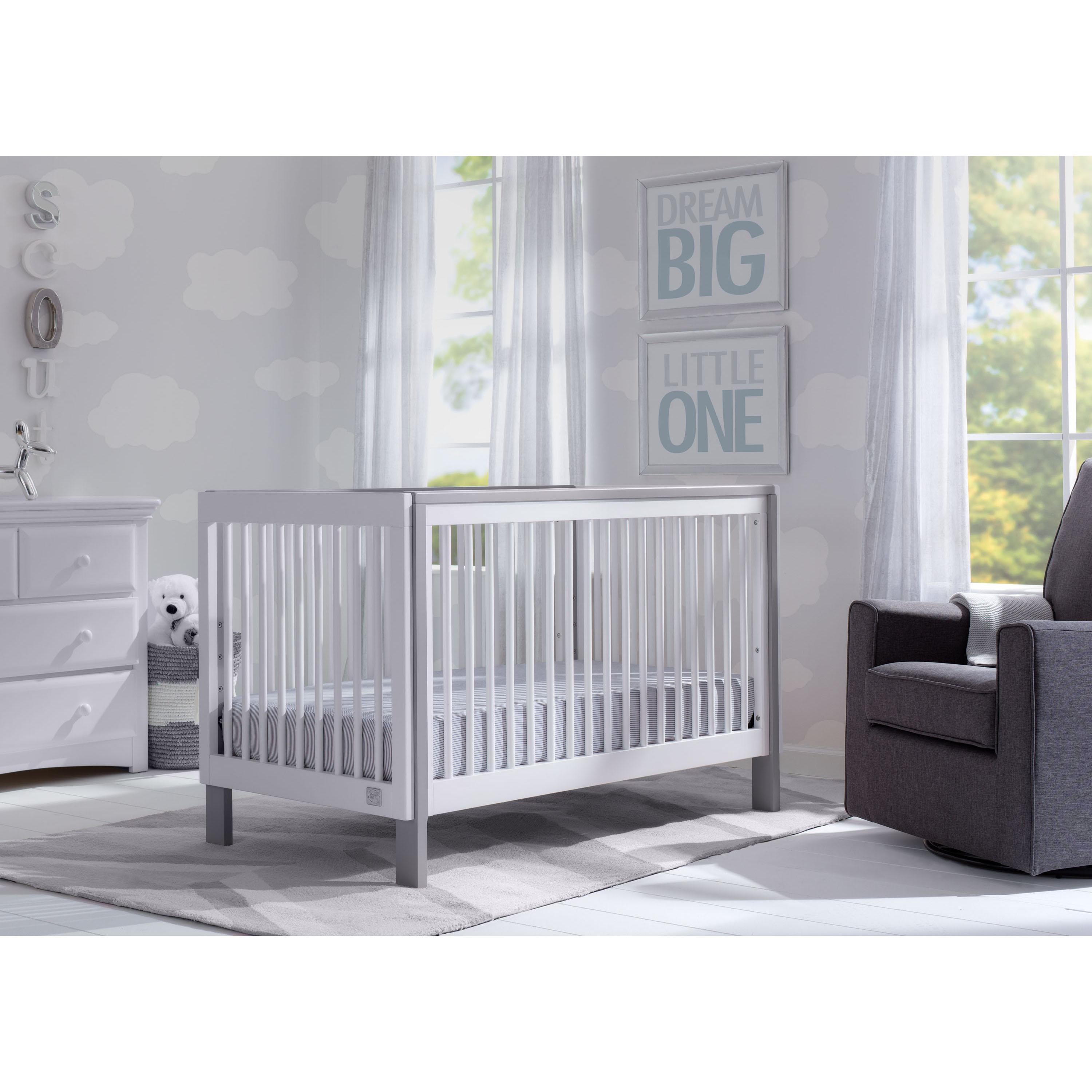 cribs creative crib of twins dividers see view for larger l through baby ideas divider