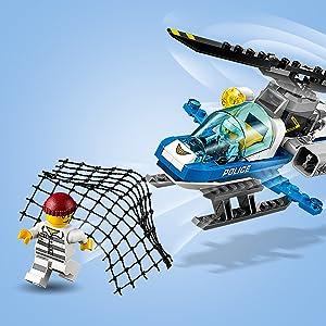 Amazoncom Lego City Sky Police Drone Chase 60207 Building Kit