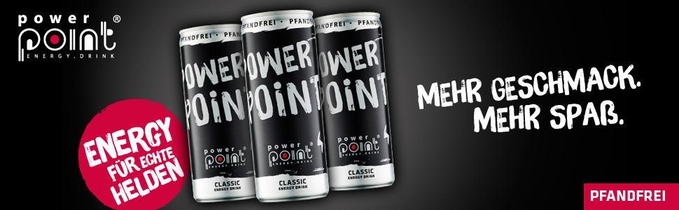 Power Point Energy Drink Classic, 24er Pack (24 x 250 ml): Amazon.de ...