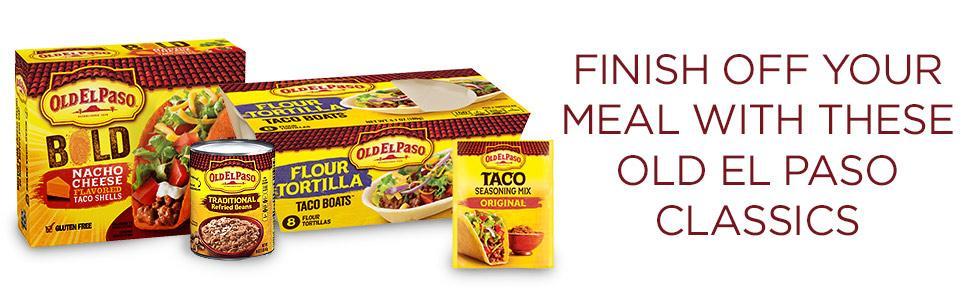 Amazon.com: Old El Paso Seasoning, Mild Taco, 1 Ounce: Prime Pantry