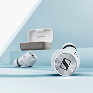 MOMENTUM True Wireless 2, White, earbuds, noise cancelling