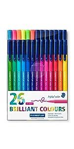 triplus color fibre-tip pens