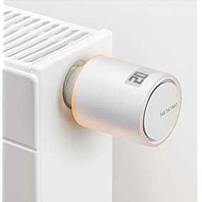 netatmo valvole termostatiche  Netatmo NAV-IT Valvola Intelligente Aggiuntiva per Termosifoni ...