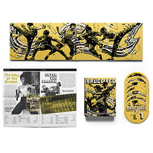 Bruce Lee His Greatest Hits box art spread
